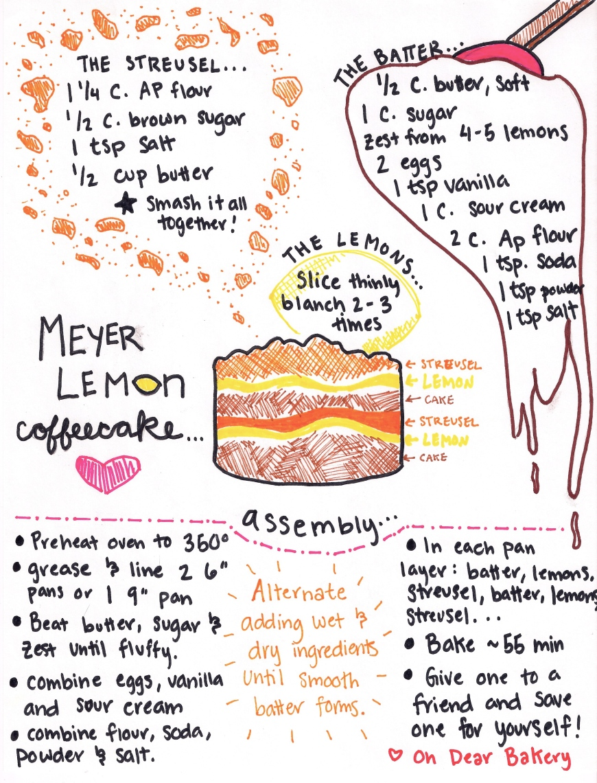 Lemon Coffeecake